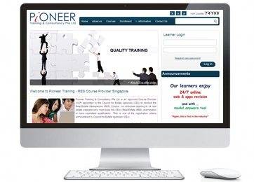 pioneer training drupal web design
