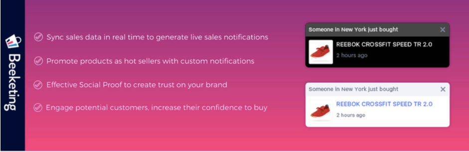 Live Sales Notification WooCommerce Web Design